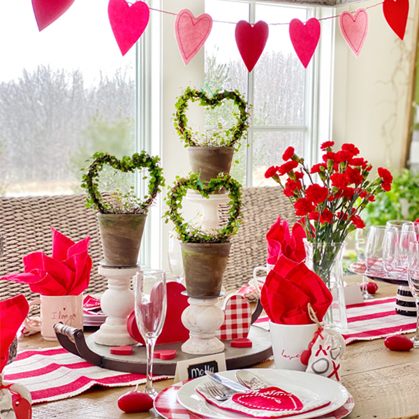 Decorating Ideas For A Galentine S Day Brunch Plaids And Poppies